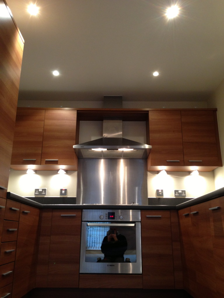 Nice Under Counter Lighting - simple yet effective use of lighting