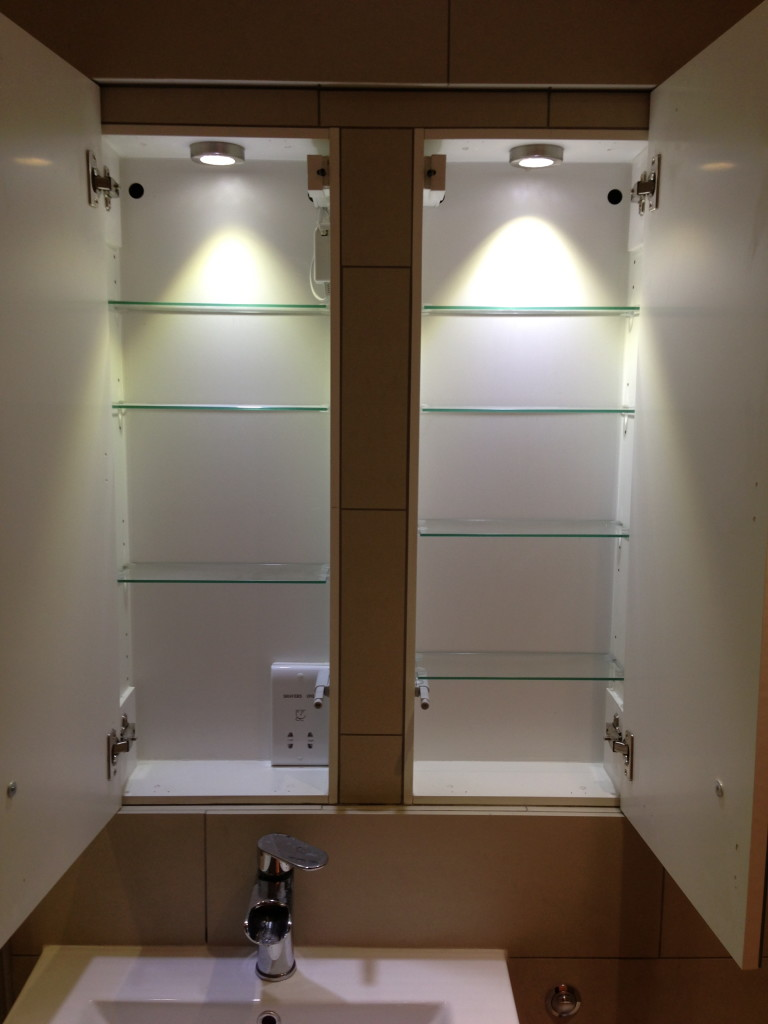 BESPOKE IN-BUILT LED CABINETS