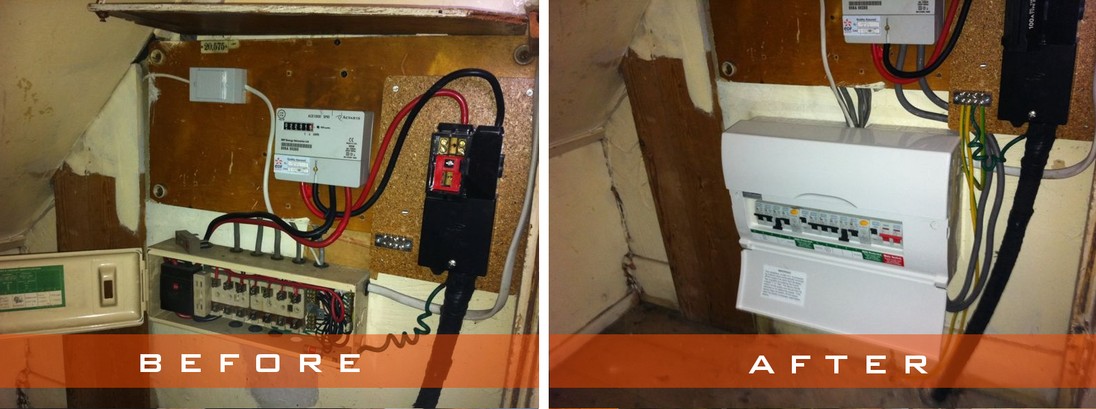 Click Here To View Some Of Our Consumer Unit Installations Wiring Up Garage New Installation