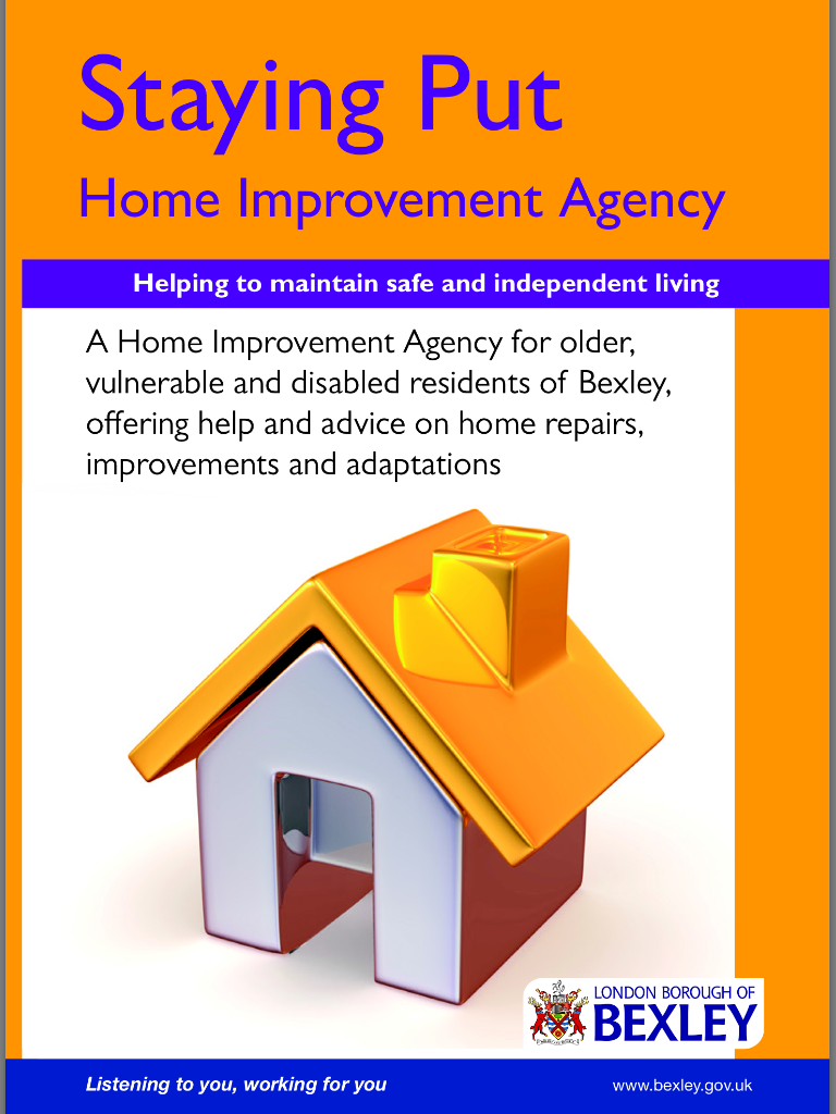 Staying Put Home Improvement Program with Bexley Council